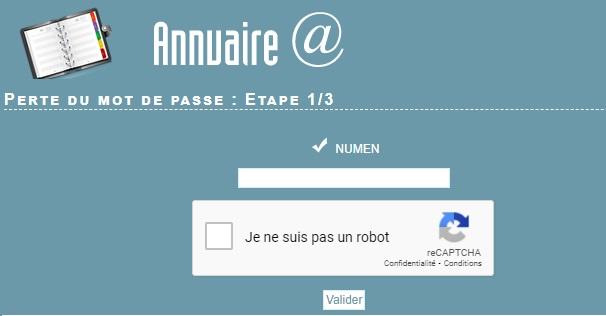 Webmail Grenoble récupérer mot de passe perdu réinitialisation