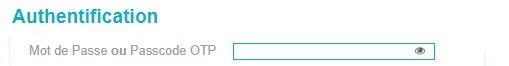 Webmail ac Nantes mot de passe Numen PassCode Otp