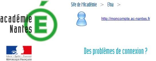 webmail ac Nantes problème de connexion impossible