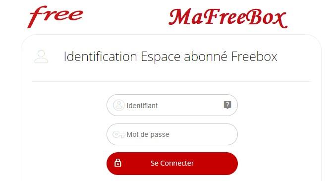 mafreebox identification espace abonné