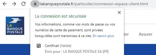 portail officiel sécurisé de connexion à la banque postale compte