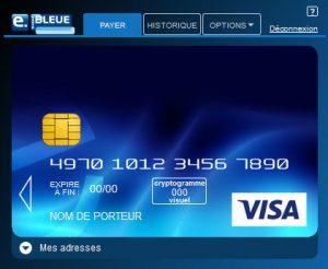 e-carte bleue la banque postale télécharger logiciel