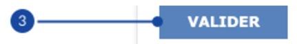 valider connexion la banque postale validation